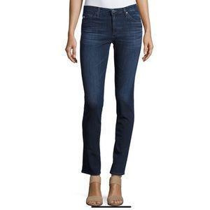 AG The Prima Mid Rise Cigarette Jeans Size 26